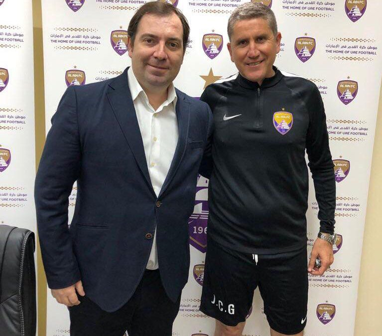 GARRIDO HAS SIGNED BY THE TEAM AL AIN OF UAE